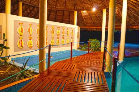 Solarium piscine