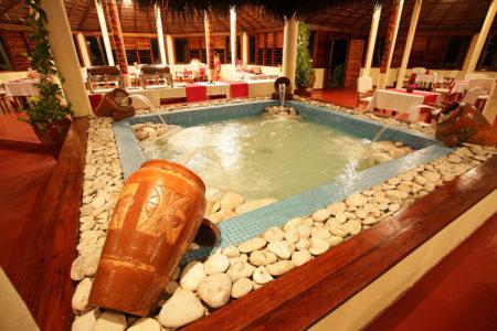 Restaurant à Nosy Saba